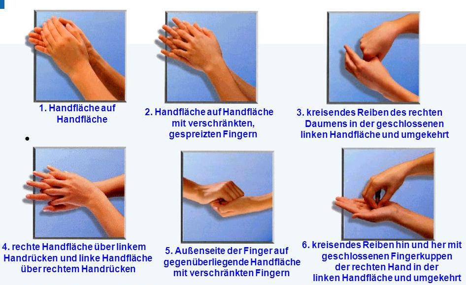 Herzerfrischend Grafik-2 Händedesinfektion im Krankenhausalltag Allgemein Hygiene  Händedesinfektion Clostridium Difficile